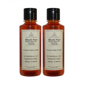Khadi Personal Care & Beauty - Khadi Pure Herbal Vitalising Hair Oil - 210ml (Set of 2)