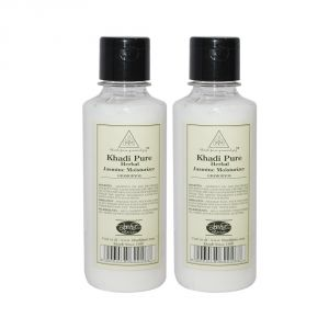 Khadi Pure Herbal Jasmine Moisturizer - 210ml (set Of 2)