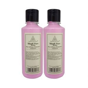 Khadi,Clinique Skin Care - Khadi Pure Herbal Rose & Honey Moisturizer - 210ml (Set of 2)