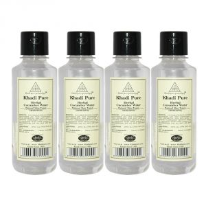 Khadi Pure Herbal Cucumber Water - 210ml (set Of 4)