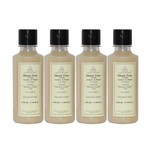 Khadi Pure Herbal Jasmine & Mogra Body Wash Sls-paraben Free - 210ml (set Of 4)