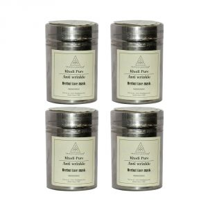 Khadi Pure Herbal Anti Wrinkle Face Mask - 50g (set Of 4)
