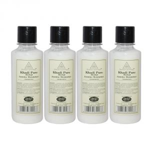 Khadi Pure Herbal Jasmine Moisturizer - 210ml (set Of 4)