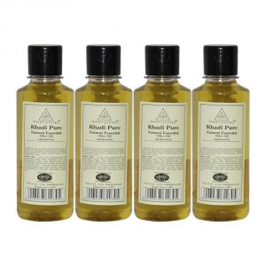 Khadi Pure Herbal Natural Essential Olive Oil - 210ml (set Of 4)