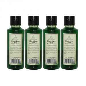 Khadi Pure Herbal Neem Sat Shampoo - 210ml (set Of 4)