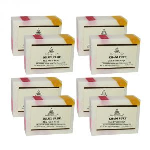 Khadi Pure Herbal Mix Fruit Soap - 125g (set Of 8)