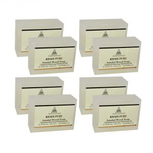 Khadi Pure Herbal Sandalwood Soap - 125g (set Of 8)