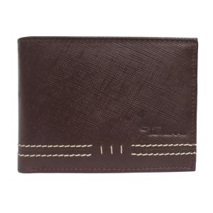 Tamanna Men Brown Genuine Leather Wallet (7 Card Slots) (code - Lwm00050-tm)