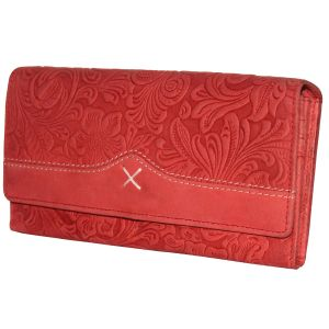 Wallets, Purses - JusTrack Casual Red Clutch