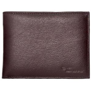 Tamanna Men Brown Genuine Leather Wallet (6 Card Slots) (code - Lwm00001)