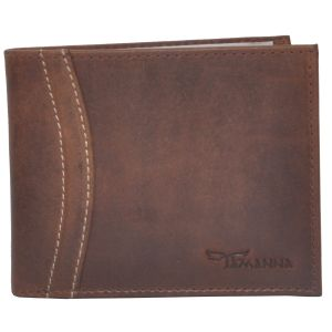 Tamanna Men Brown Genuine Leather Wallet (7 Card Slots) (code - Lwm00027-tm)