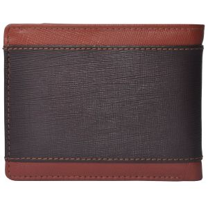 Tamanna Men Tan, Brown Genuine Leather Wallet (3 Card Slots) (code - Lwm00028-tm)