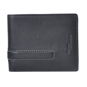 Tamanna Men Black Genuine Leather Wallet (7 Card Slots) (code - Lwm00034-tm)