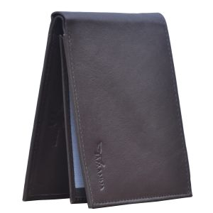 Tamanna Men Brown Genuine Leather Wallet (6 Card Slots) (code - Lwm00037-tm)