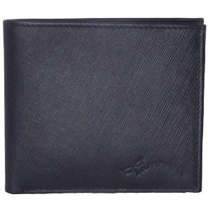 Tamanna Men Black Genuine Leather Wallet (5 Card Slots) (code - Lwm00042-tm)