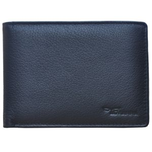 Tamanna Men Black Genuine Leather Wallet (9 Card Slots) (code - Lwm00045-tm)