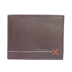 Tamanna Men Brown Genuine Leather Wallet (4 Card Slots) (code - Lwm00049-tm)