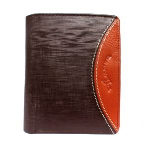 Tamanna Men Brown, Tan Genuine Leather Wallet (5 Card Slots) (code - Lwm00052-tm)