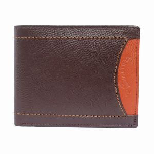 Tamanna Men Brown Genuine Leather Wallet (6 Card Slots) (code - Lwm00053-tm)