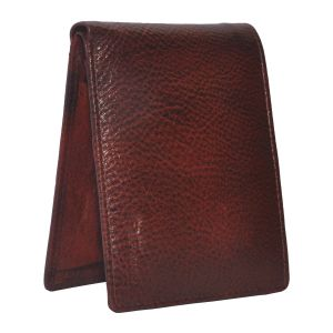 Tamanna Men Brown Genuine Leather Wallet (5 Card Slots) (code - Lwm00055-tm)
