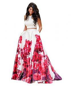 New Latest Bollywood Designer White And Pink Flower Digital Printed Lehenga Choli (code - White And Pink Flower)