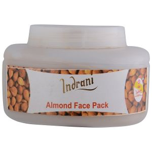 Benetton,Clinique,Maybelline,Vaseline,Indrani Body Care - INDRANI ALMOND FACE PACK-250GM