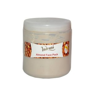 Globus,Diesel,Indrani,Jovan,Archies Personal Care & Beauty - INDRANI ALMOND FACE PACK-500GM