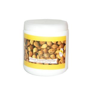 Indrani Almond Nourishing Massage Cream With Vitamin-e Oil-500gm