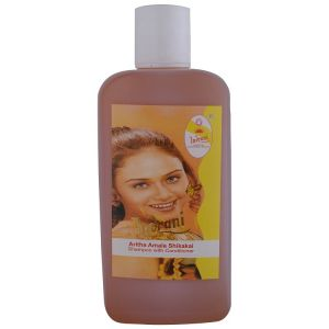 Indrani Aritha Amala Shikekai Shampoo With Conditioner-500ml