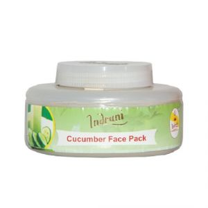 Nike,Jovan,Adidas,Nova,Indrani Personal Care & Beauty - INDRANI CUCUMBER FACE PACK-250GM