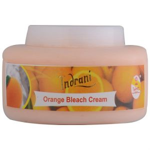 Alba Botanica,Estee Lauder,Globus,Indrani Body Care - INDRANI ORANGE BLEACH CREAM-200GM