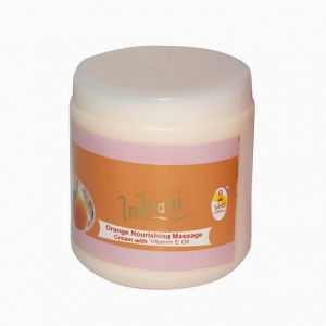 Indrani Orange Nourishing Massage Cream With Vitamin-e Oil-500gms