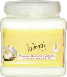 Indrani Cosmetics Pineapple Nourishing Massage Cream With Vit-e Oil-1kg