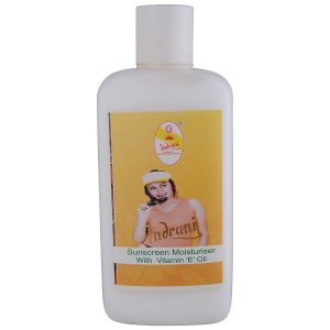 "Globus,Diesel,Indrani Personal Care & Beauty - Indrani Sunscreen Moisturiser with Vitamin ""E"" Oil-500ML"