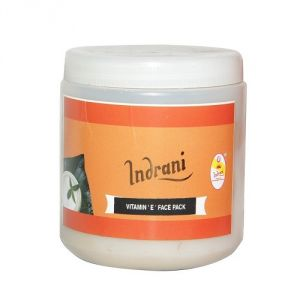 Benetton,Wow,Gucci,Indrani,Calvin Klein Personal Care & Beauty - Indrani Vitamin 'E ' Face Pack-500GMS