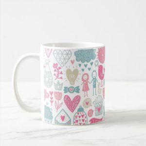 Love Doodle Mug
