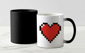 Birthday Gifts - My Heart For You Magic Mug
