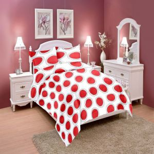 Wi International Beautiful Cotton Double Bedsheet With Two Pillow Cover (code - Cottonpbs0018)