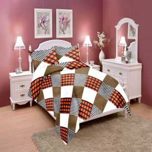 Wi International Beautiful Cotton Double Bedsheet With Two Pillow Cover (code - Cottonpbs0021)