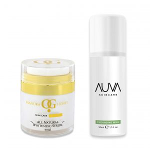 Oceanic Gold All Natural Whitening Serum & Freebie Cleansing Milk
