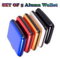 Belts ,Socks ,Wallets  - Set Of 5 Aluma Wallet