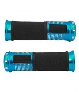 Star Shine Stylish Bike Handle Grip Blue For All Bikes/all Scooty/all Scooters/all Bullets