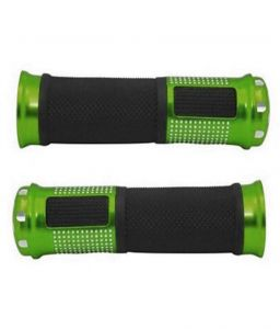 Star Shine Stylish Bike Handle Grip Green For All Bikes/all Scooty/all Scooters/all Bullets
