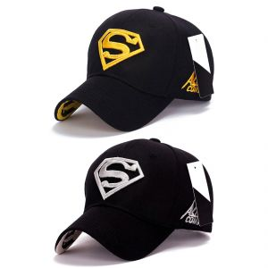 Superman Baseball & Sports Cap By Treemoda (pack Of 2) (code - Tm_cap_combo_1)