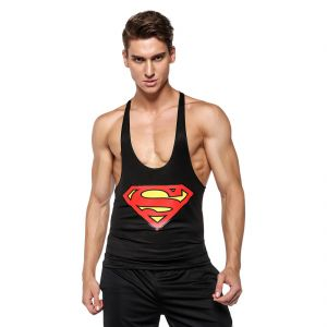 Superman 3d Gym Compression Tank Top By Treemoda (code - Tm_cc_102)