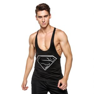 Superman 3d Gym Compression Tank Top By Treemoda (code - Tm_cc_103)