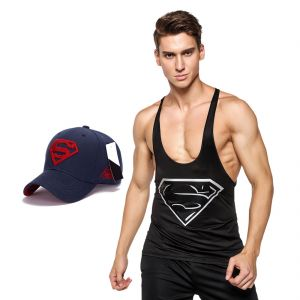 3d Compression Tank Top For Men By Treemoda Comic Collection And 1 Free Superman Baseball Cap (code -tm_cc_cap_combo_15)