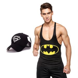 3d Compression Tank Top For Men By Treemoda Comic Collection And 1 Free Superman Baseball Cap (code -tm_cc_cap_combo_16)