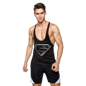 3d Compression Tank Top And Gym Shorts By Treemoda Comic Collection (code - Tm_cc_combo_104)