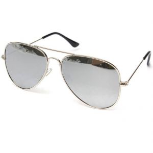 Mways Aviator Unisex Sunglasses (silver)
